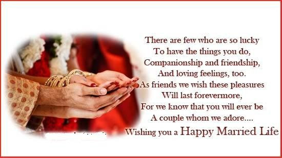 Wishing You A Happy Married Life
