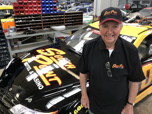 90-Year-Old Hershel McGriff Makes NASCAR History - May 5, 2018