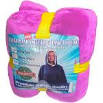 Cozy Soft Comfortable Sherpa Hoodie Sweatshirt - Oversized Blanket Sweatshirt Hoody - Hooded, Large Pocket, Reversible - - Premium Edition - Pink