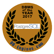 PostgreSQL is the DBMS of the Year 2017
