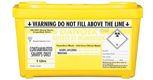 Handling Hazardous Waste: The Danger of Sharps