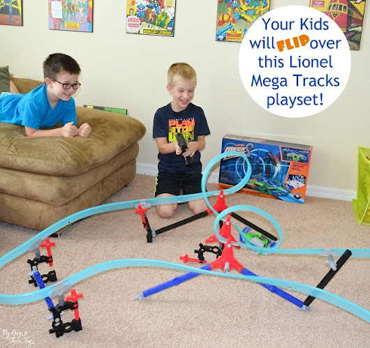 Lionel Mega Tracks Corkscrew Chaos Race Track - My Boys & Their Toys