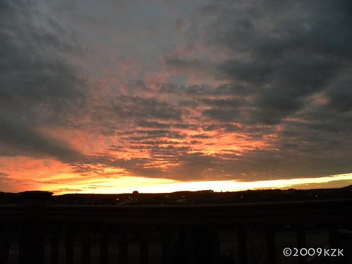 DSCN2440 24 OCT 09 sunset