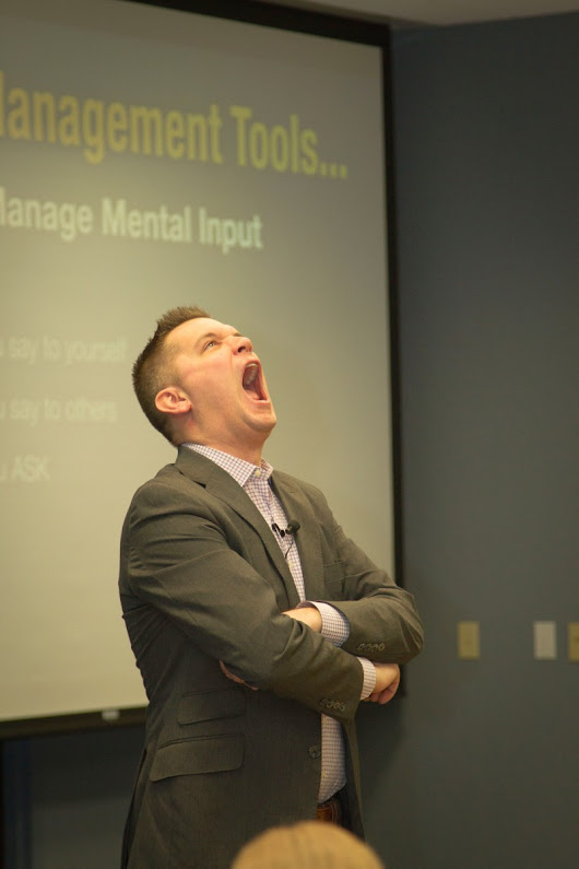 Does negativity make you want to scream? Robb Zbierski has a solution.