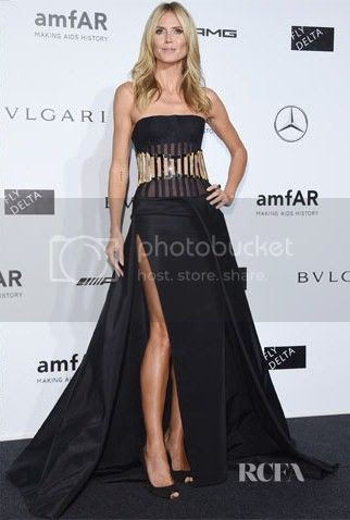 amfAR Milano 2014 Gala Red Carpet Fashion Styles photo Heidi-Klum-amfAR-Milano-2014-Gala.jpg