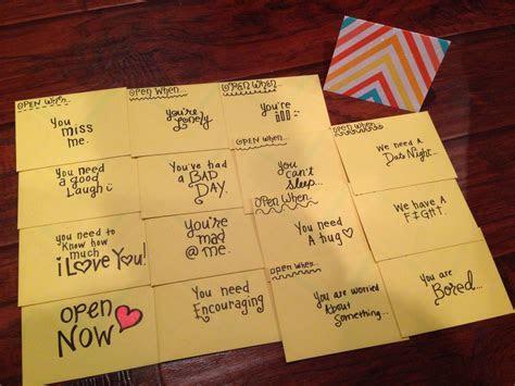 Open when envelopes    Cute Crafts & DIYz!   Pinterest