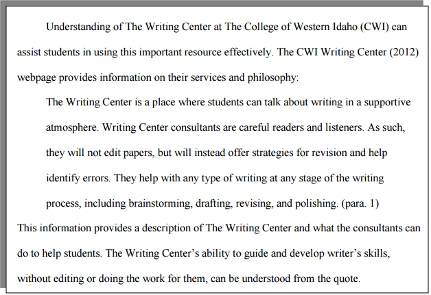 How To's Wiki 88: How To Block Quote In Apa