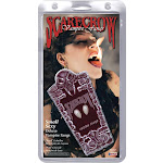 SMALL Realistic Deluxe Custom Fangs Box - 6358 - White - One Size