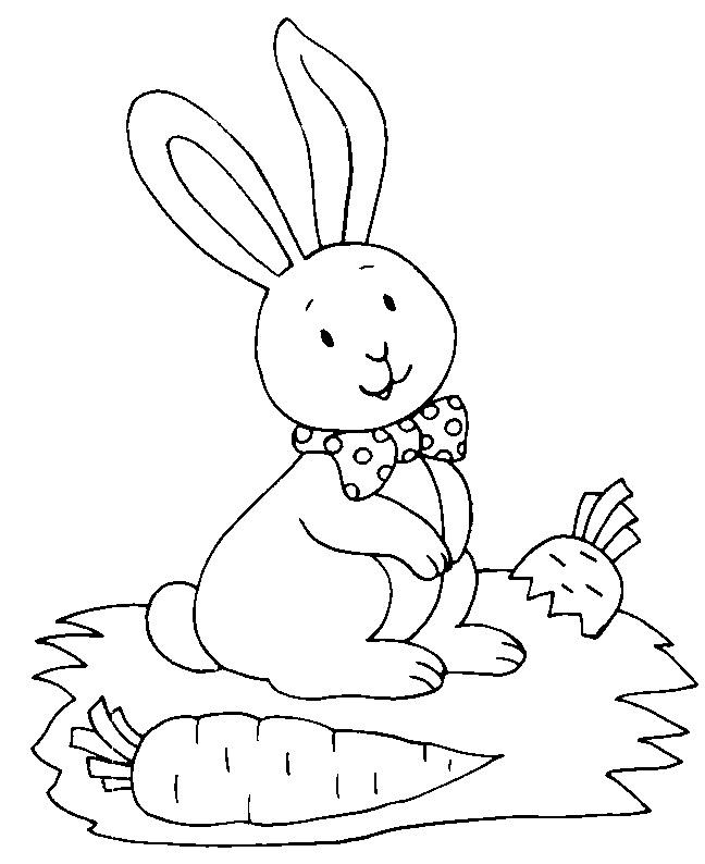 Conejos Para Colorear Az Dibujos Para Colorear