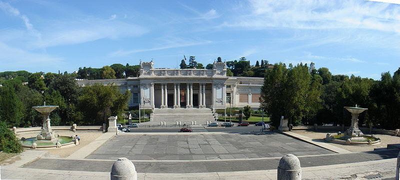 File:Villa Borghese - Fontane Oscure e Galleria Nazionale Arte moderna 01216-7.JPG