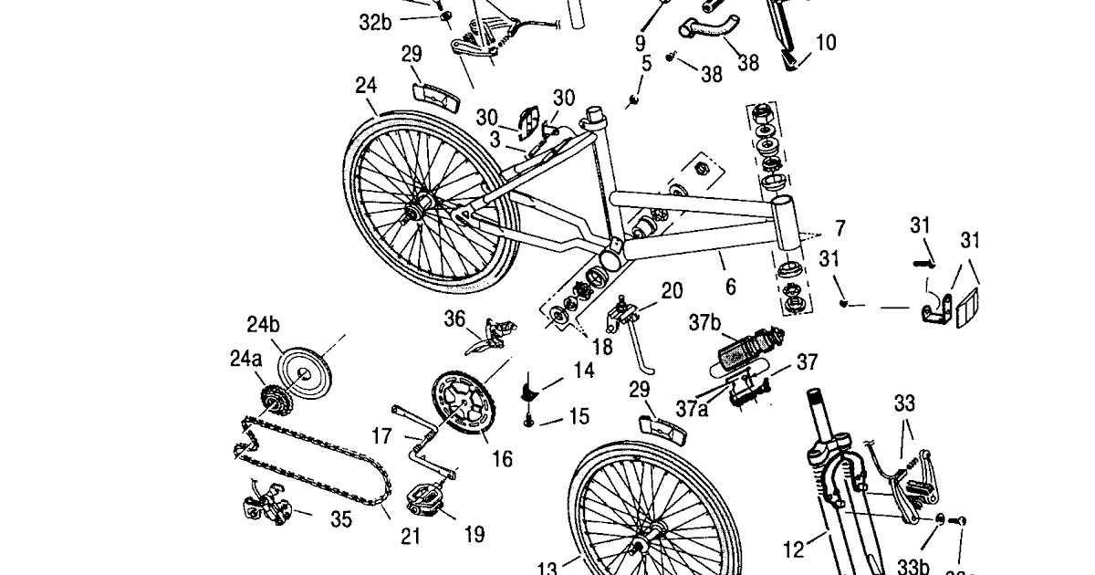 Bicycle: Murray Bicycle Parts