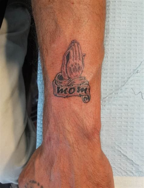 praying hands mom rip tattoo picture ideas