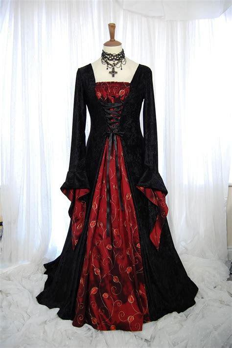 Black Gothic Wedding Dresses   Goth   Pagan wedding