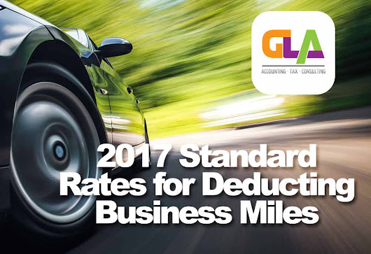 2017 Personal Vehicle for Business Purposes, Tax Deduction & Mileage Rates