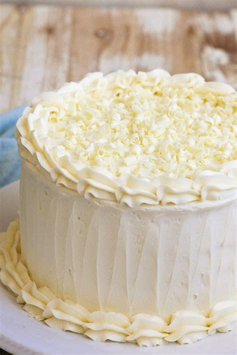 White Wedding Cake   Recipe   Cakes / Cupcakes   Cake