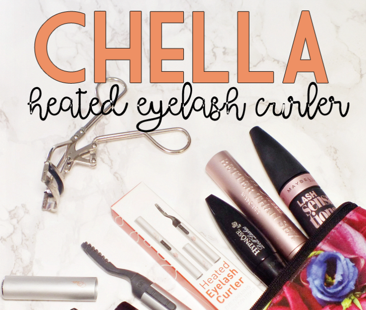 #allthecurl with The Chella Heated Eyelash Curler | I Know ...