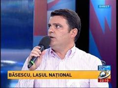 Radu Tudor: Traian Băsescu nu poate ieşi singur pe stradă. E cea mai mare umilinţă