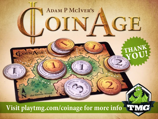 Coin Age -  A PAY-WHAT-YOU-WANT area control microgame