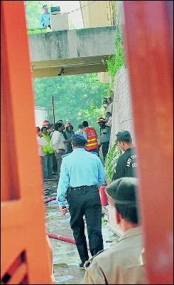 Ataque suicida contra la ONU    en el centro de Islamabad