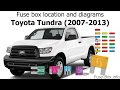 Get 2007 Toyota Tundra Fuse Panel Diagram Images