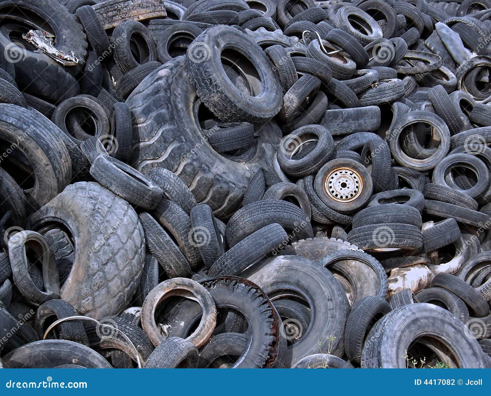 Tire Dump 2 Stock Photography Image 4417082