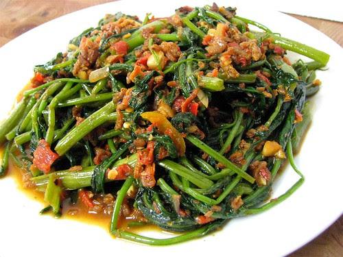 sambal belacan kangkong recipe