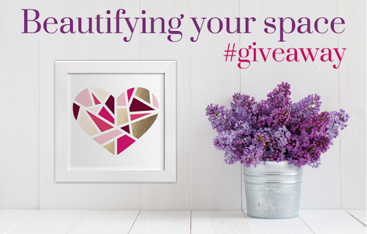 Beautifying my space // #Giveaway - Live,Love,Thrive