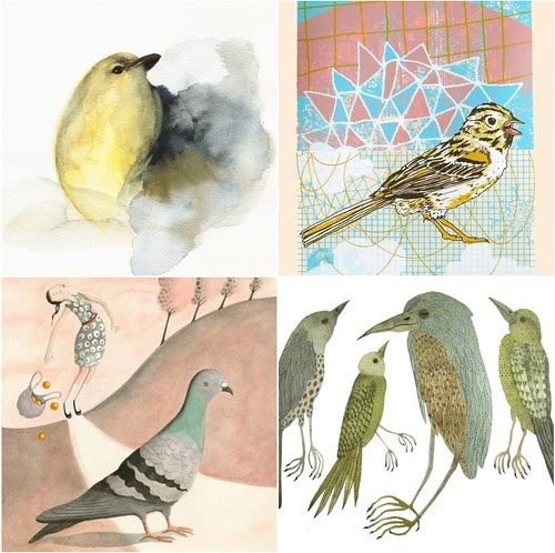 etsy lovely birds