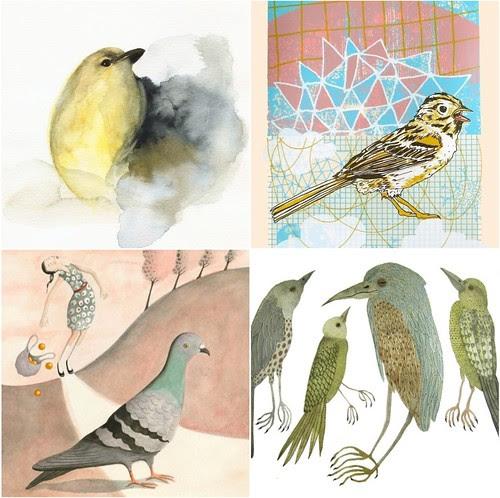 etsy lovely birds
