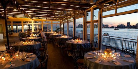 Sunset Terrace at Chelsea Piers Weddings   Price out and