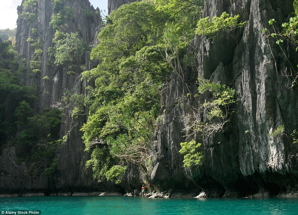 There are two Unesco world heritage sites on the island, which both attract divers and snorkelers keen to explore Palawan's underwater world