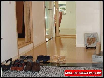 Tirar sapatos no Japão