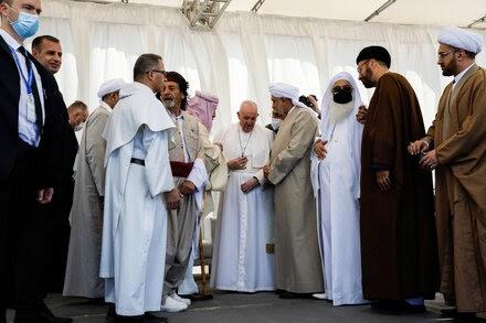 Pope's visit is a reminder of Iraq's vanishing religious minorities.