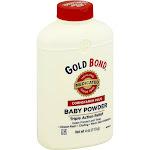 Gold Bond Medicated Baby Powder, Cornstarch Plus - 4 oz bottle
