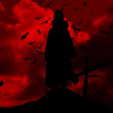 Uchiha Itachi Crow Wallpaper Free Desktop   I HD Images