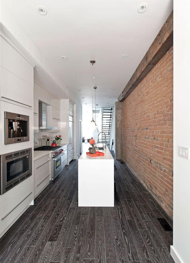 Phòng bếp hẹp