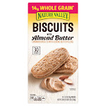 Nature Valley Biscuits with Almond Butter, 1.35 oz, 30-count