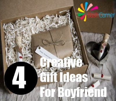 Four Creative Gift Ideas For Boyfriend