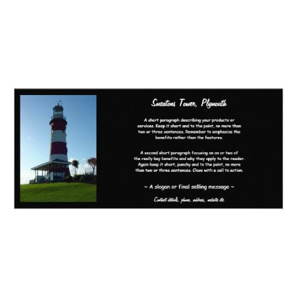 Smeaton's Tower, Plymouth Hoe Rack Card