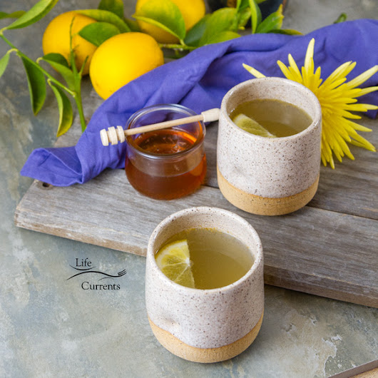 Honey Lemon Cold and Flu Remedy Drink - Life Currents