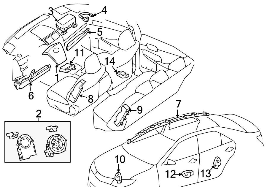 33 2014 Toyota Camry Parts Diagram