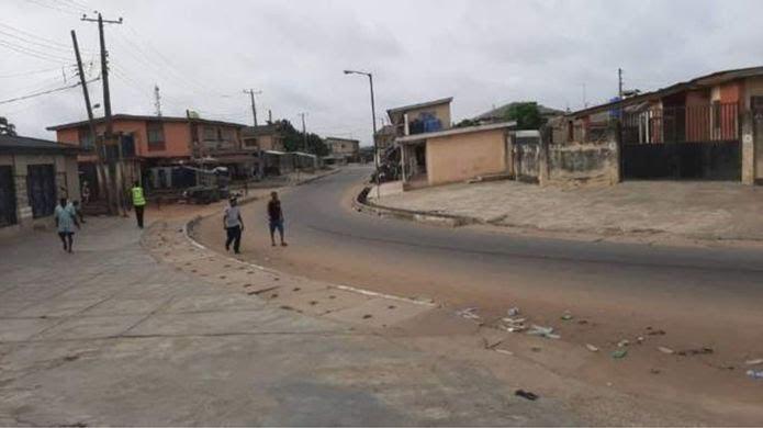 Lockdown in Nigeria