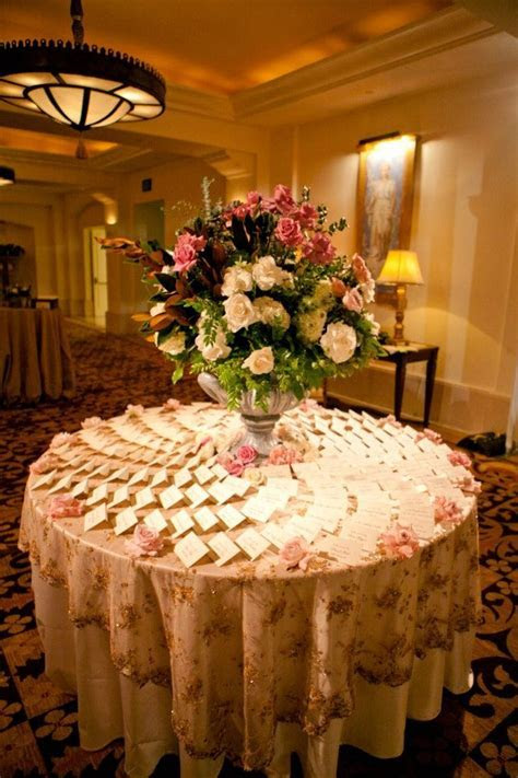17 Best images about Escort card table on Pinterest