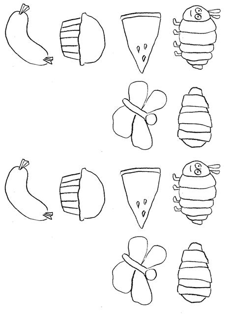 Caterpillar Coloring Page Printable