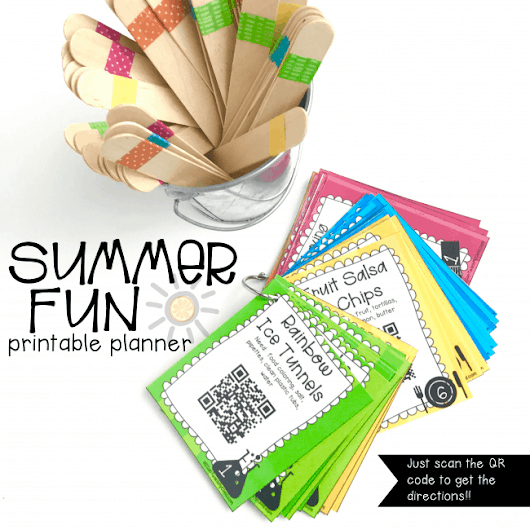 Interactive Summer Fun Printable Planner: 50+ Summer Activities for Kids - I Can Teach My Child!