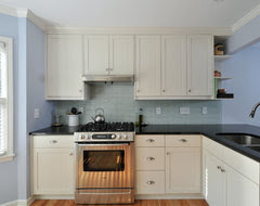 Diagenesis Gray And Light Blue Kitchens