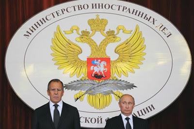 Lavrov y Putin