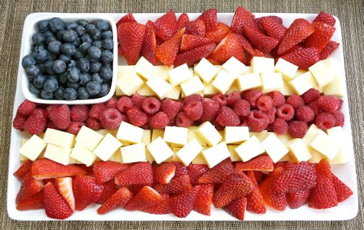 Red, White, Blue & Good For You! | Budget Epicurean