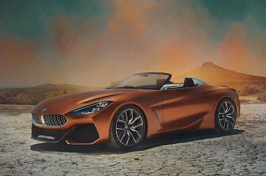 The New BMW Z4 Concept Revealed - Exotic Car List