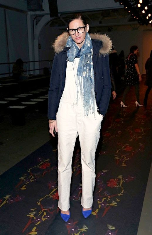11 Le Fashion Blog 17 Ways To Wear White Overalls Jenna Lyons Fur Collar Coat Blue Pumps Via Harpers Bazaar photo 11-Le-Fashion-Blog-17-Ways-To-Wear-White-Overalls-Jenna-Lyons-Fur-Collar-Coat-Blue-Pumps-Via-Harpers-Bazaar.jpg